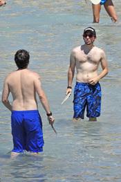 Rafael Martos en bañador