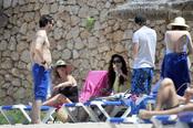 Amelia Bono y Rafael Martos, juntos de vacaciones