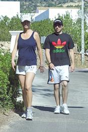 Amelia Bono y Rafael Martos, con un look deportivo