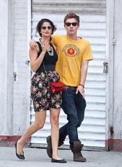 Xavier Samuel y su novia Sheri