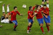 El gol de Puyol tumba a Alemania