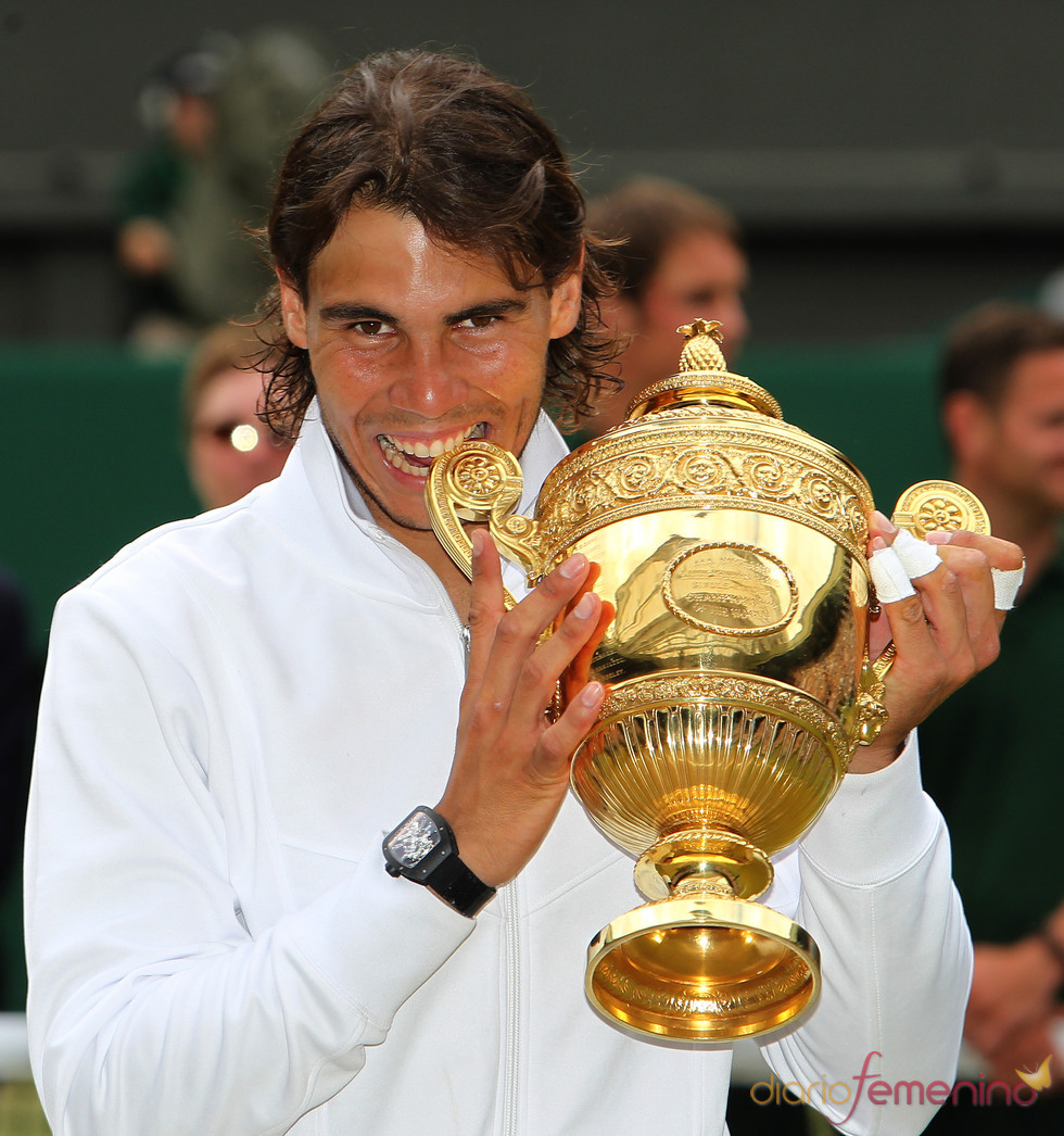 Rafa Nadal gana su segundo título en Wimbledon