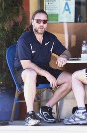 Russell Crowe con un look 'diferente'