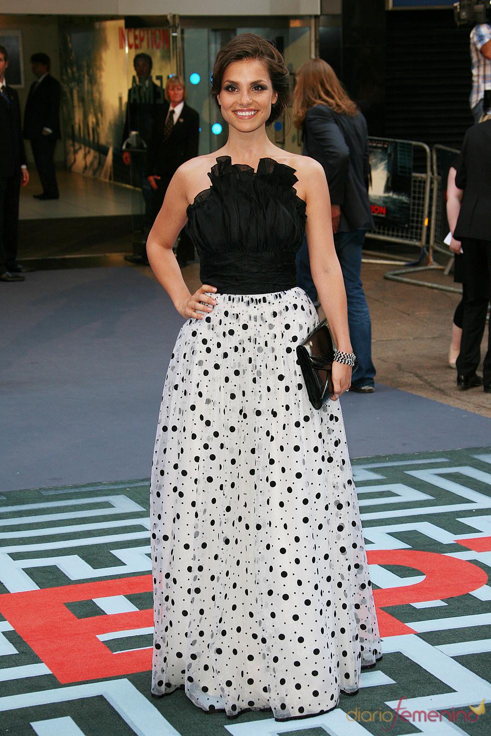 Charlotte Riley, en la premiere de 'El origen' en Londres