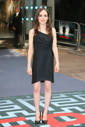 Ellen Page en el estreno de 'El origen' en Londres