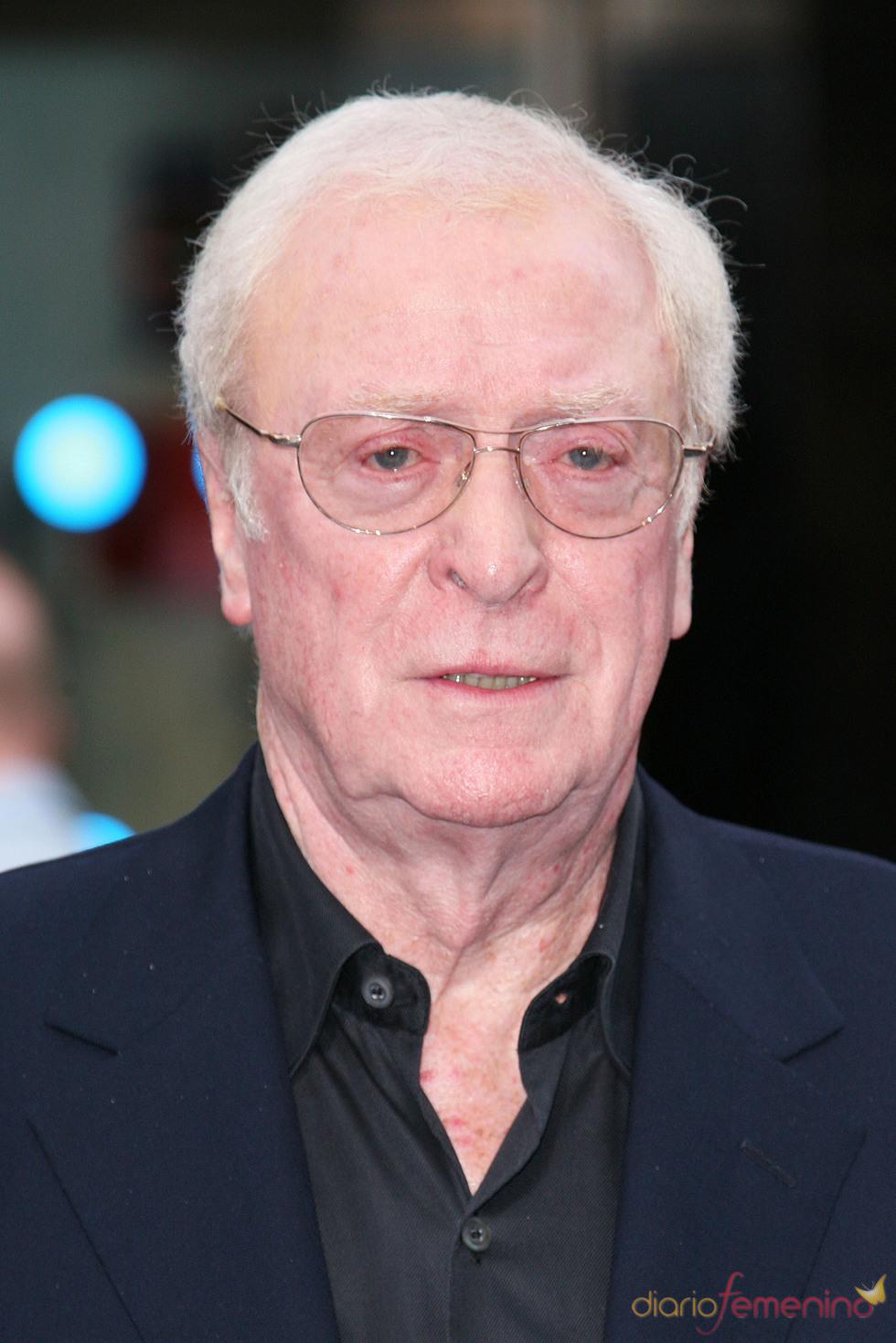 Michael Caine en el estreno de 'El origen' en Londres