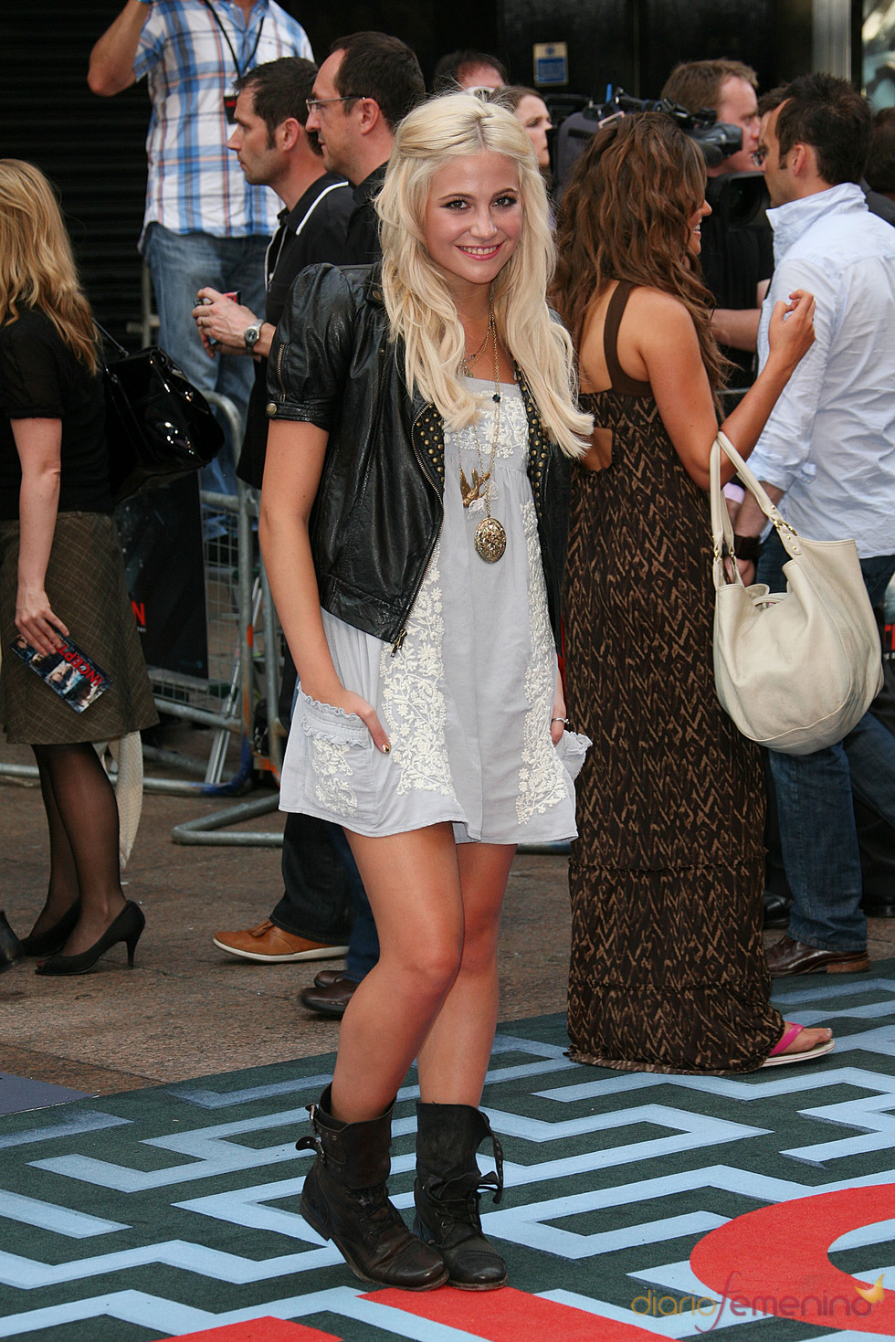 Pixie Lott en el estreno de 'El origen' en Londres