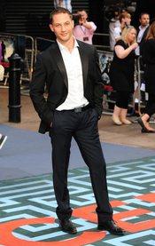 Tom Hardy  en el estreno de 'El origen' en Londres
