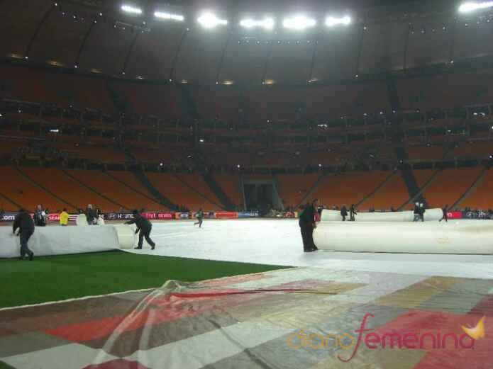 Preparativos para la Final de Mundial 2010