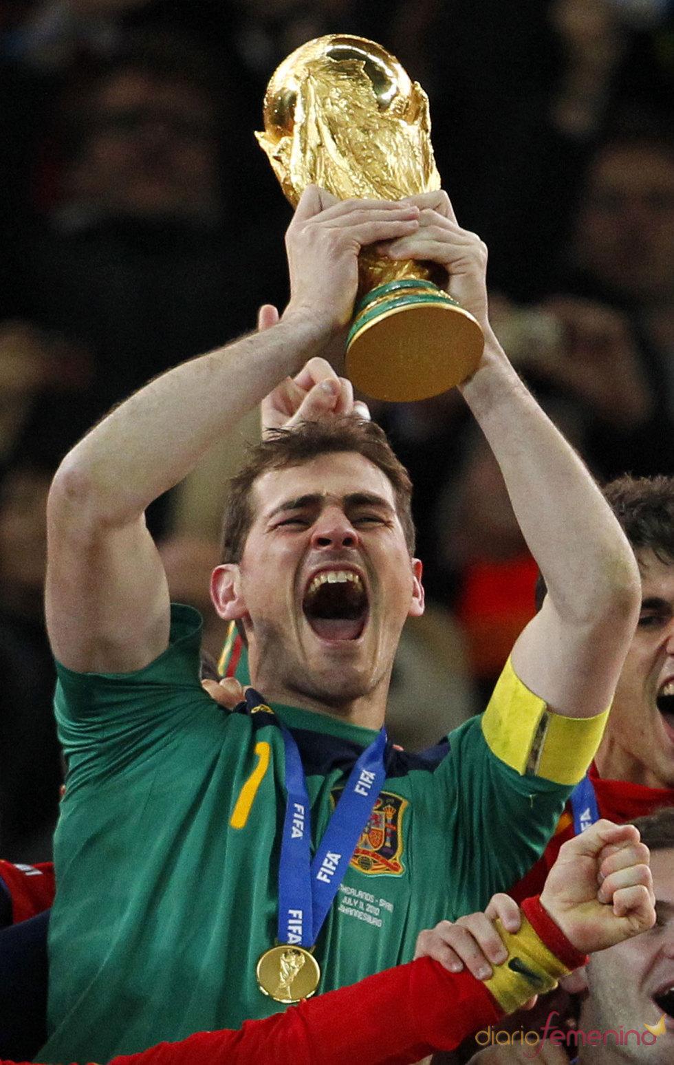 Iker Casillas, campéon del mundo de fútbol