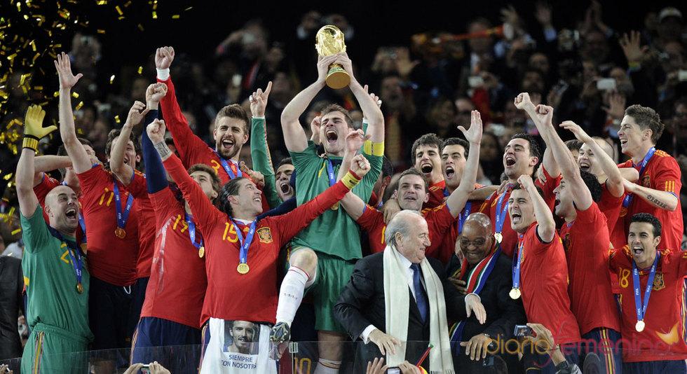 Campeones, campeones del Mundial 2010