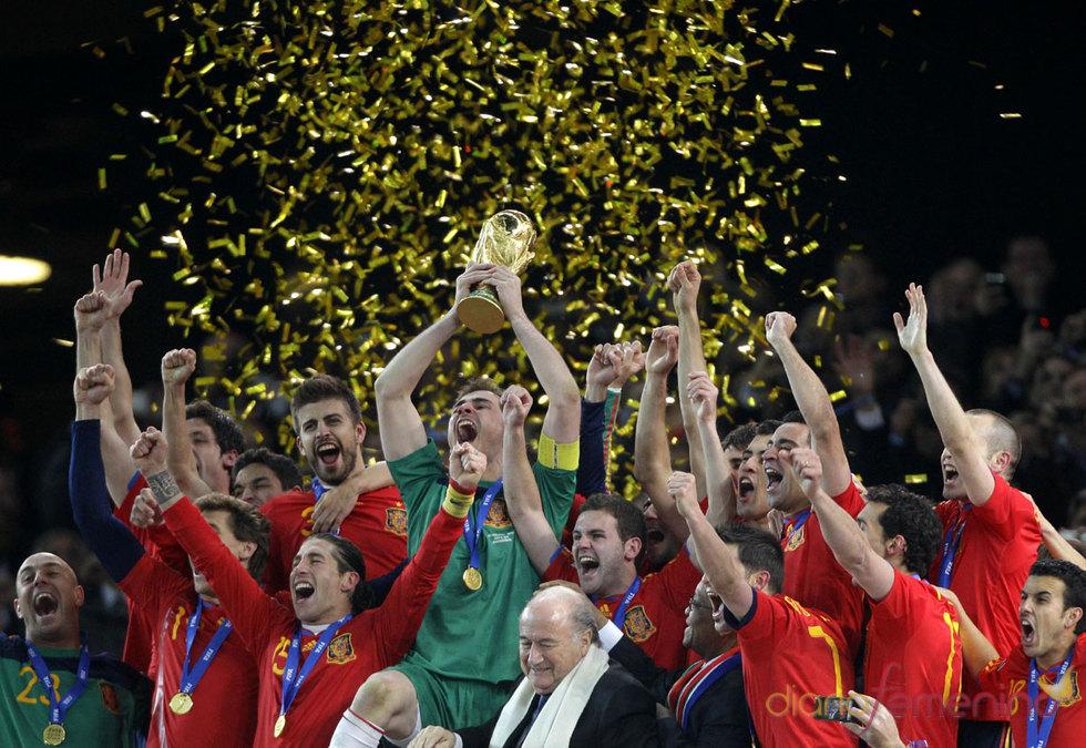 La gran fiesta de España en el Mundial de Sudáfrica 2010