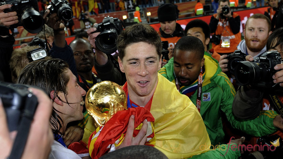 Fernando Torres es campeón del mundo de fútbol