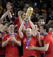 El gol de Iniesta dió la Copa del Mundo de fútbol a España