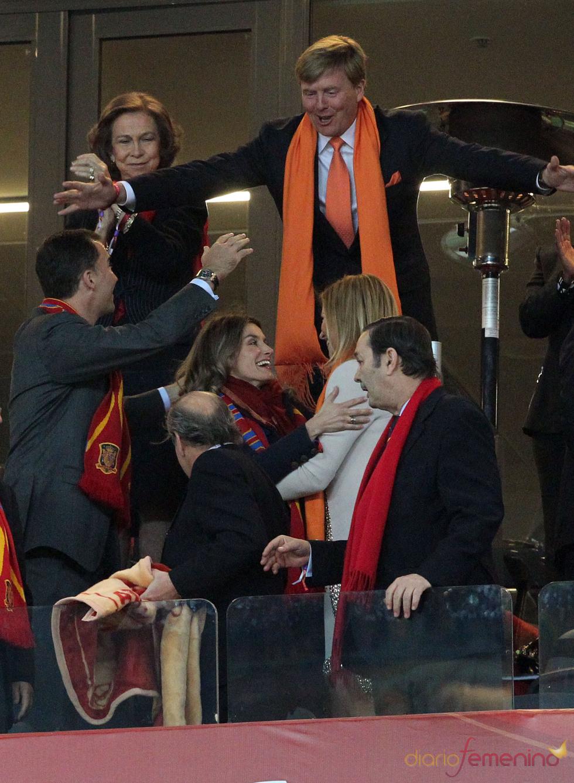 Los Príncipes de Asturias y los de Holanda, sin rencores