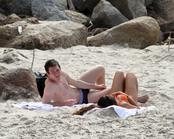 Leo Messi, de vacaciones en Brasil con su novia