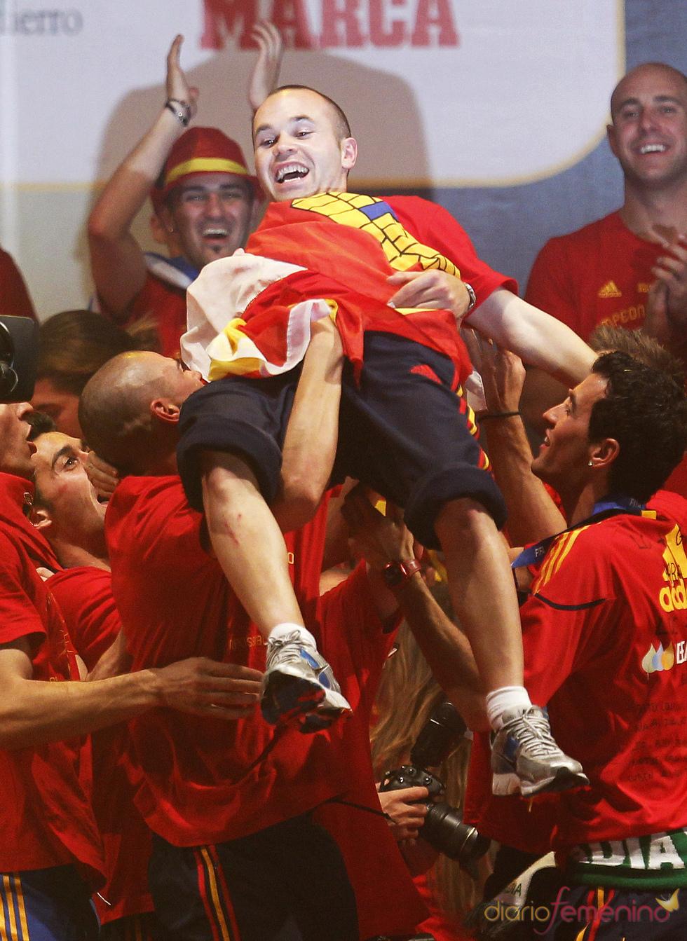 Andrés Iniesta, uno de los grandes del Mundial