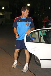 Iker Casillas, preparado para pasar la noche con su novia