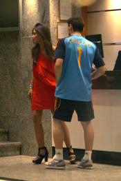 Iker Casillas y Sara Carbonero cogen habitación un hotel
