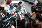 David Villa, aclamado en su pueblo tras el Mundial