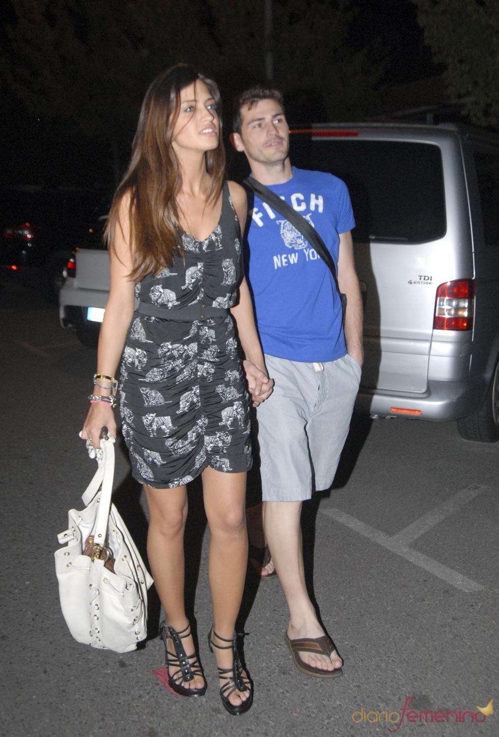 Salida romántica de Sara Carbonero e Iker Casillas