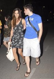 Sara Carbonero e Iker Casillas, juntos por las calles de Madrid