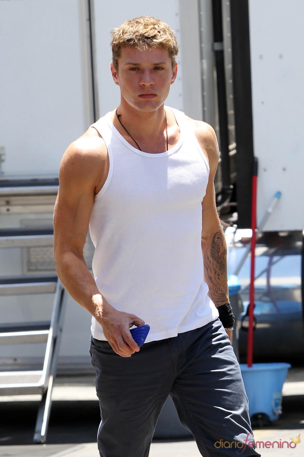 Ryan Phillippe en buena forma física
