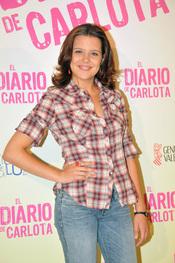 Andrea Ros en el estreno de la película 'El diario de Carlota'