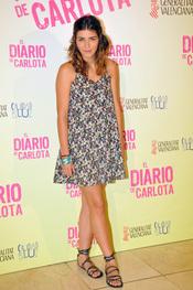 Lorena Mateo es protagonista de 'El diario de Carlota'