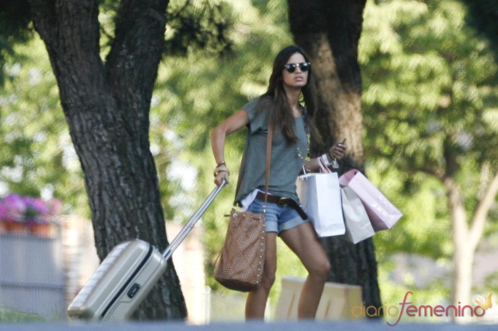 Sara Carbonero en el pueblo de su novio, Iker Casillas