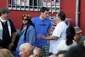 Iker Casillas se relaja en su pueblo de Ávila
