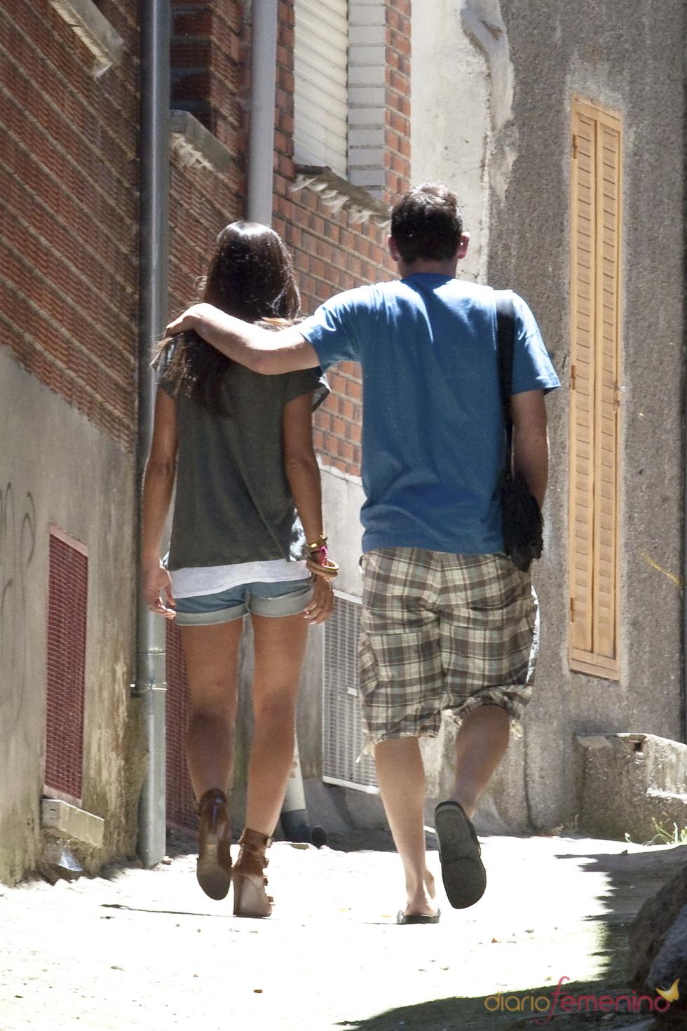 Sara Carbonero e Iker Casillas, dos enamorados en Navalacruz