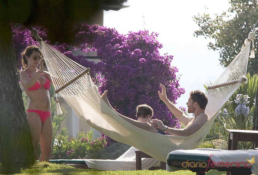 Xabi Alonso, de vacaciones con la familia