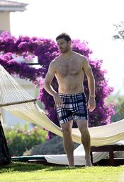 Xabi Alonso se relaja en Mallorca