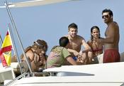 Gerard Piqué, de vacaciones en Ibiza