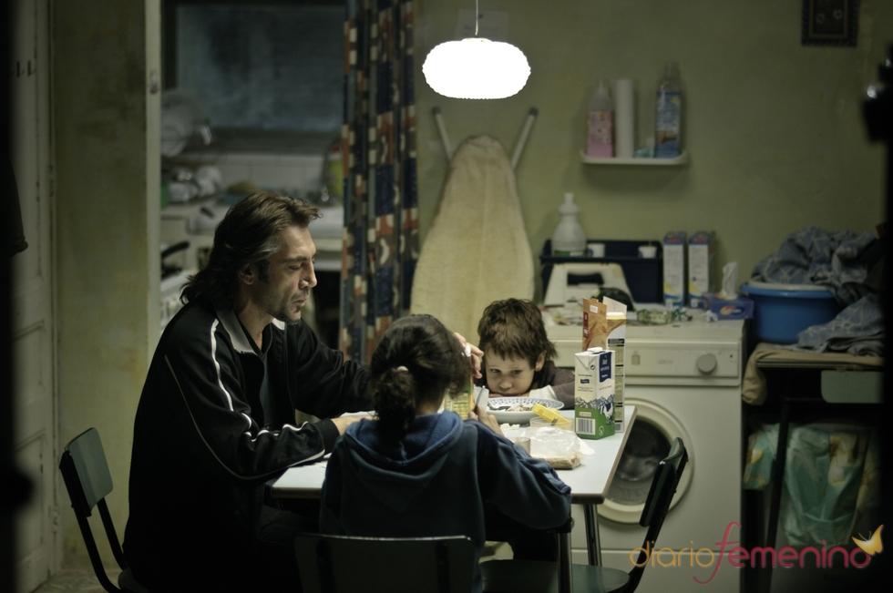 Escena de Javier Bardem en 'Biutiful'