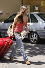 Sara Carbonero se marcha de vacaciones
