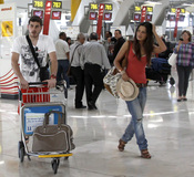 Iker Casillas y Sara Carbonero se marchan de vacaciones