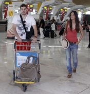 Iker Casillas y Sara Carbonero se marchan de 'Luna de Miel'