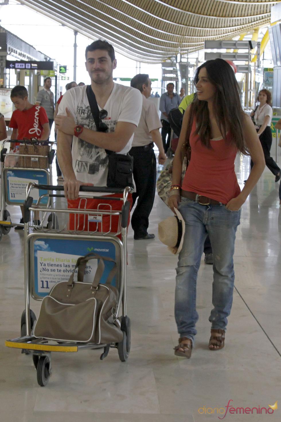 Iker Casillas y Sara Carbonero se marchan de vacaciones a un lugar secreto