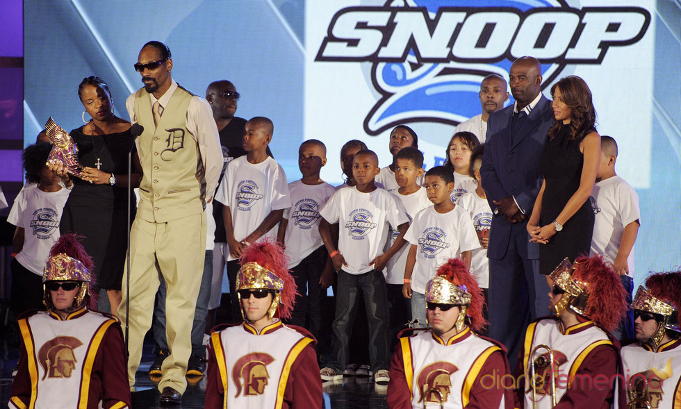 Snoop Dogg en los premios Do Somethig
