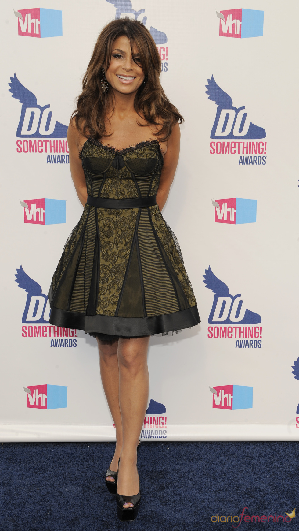 Paula Abdul en los premios Do Somethig