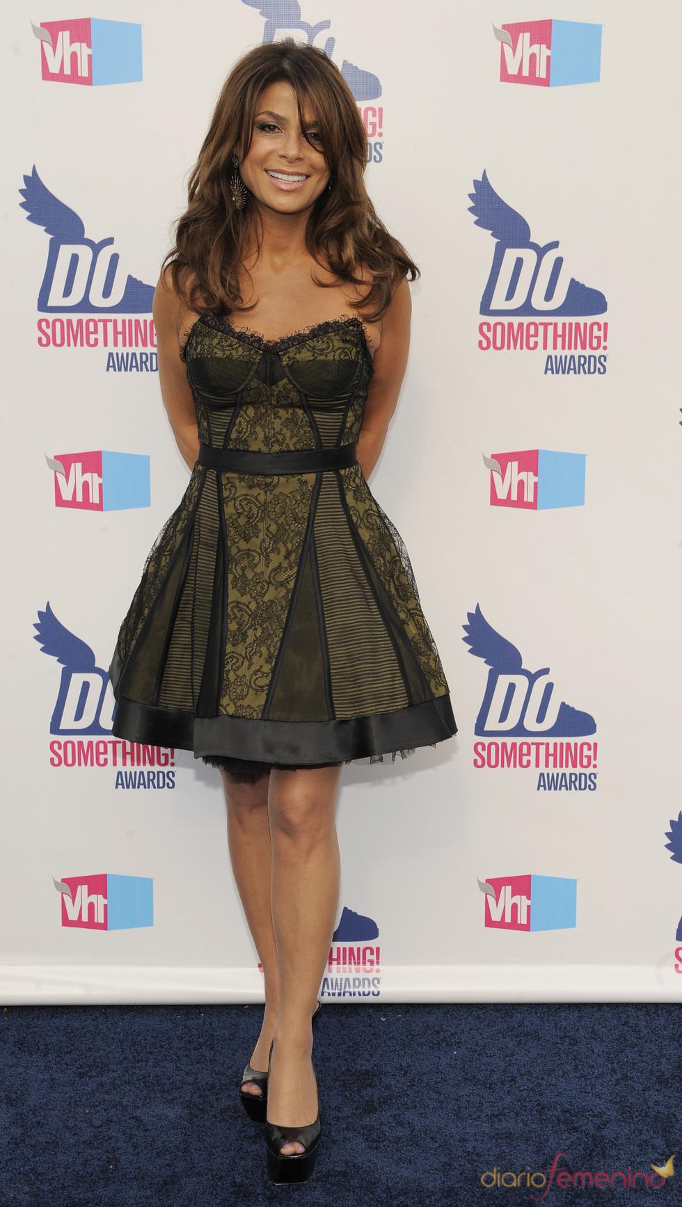 Paula Abdul en los premios Do Somethig