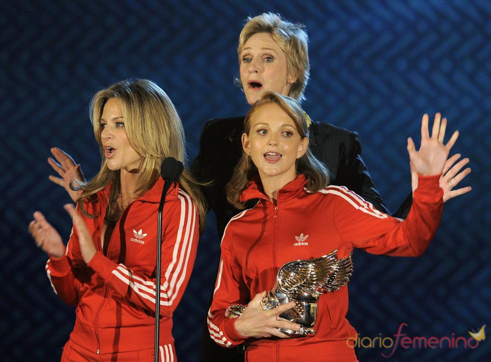 Actores de 'Glee' en los premios Do Somethig