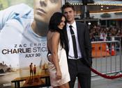 Vanessa Hudgens y Zac Efron en el estreno de 'Charlie St. Cloud'