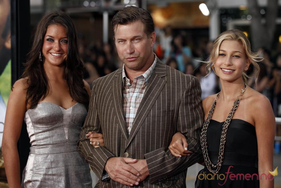 Stephen Baldwin e hijas en el estreno de 'Charlie St. Cloud' en LA