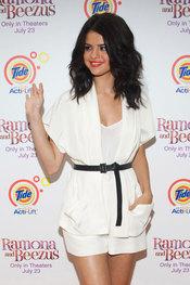 Selena Gomez, en el estreno de 'Ramona & Beezus'
