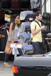 Iker Casillas y Sara Carbonero en San Francisco