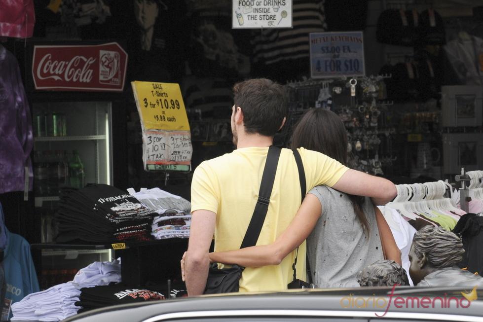 Iker Casillas y Sara Carbonero abrazados en San Francisco