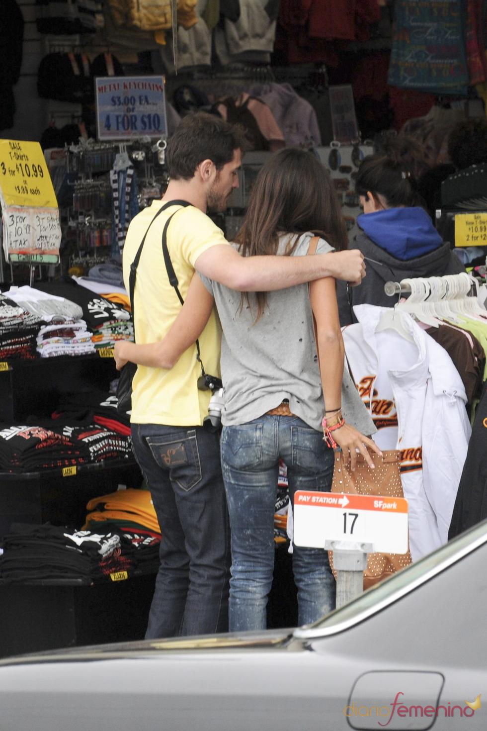 Iker Casillas y Sara Carbonero, dos enamorados en San Francisco